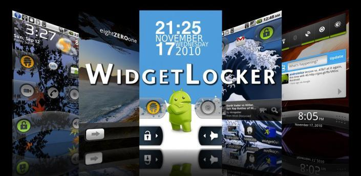 Widgetlocker til Android