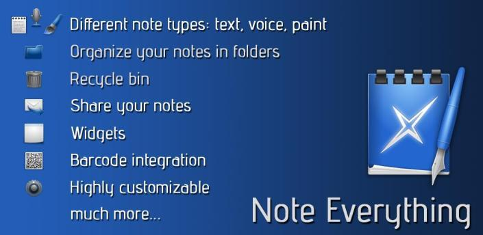 note everything for android
