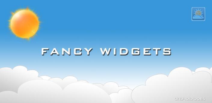 Fancy widgets til Android