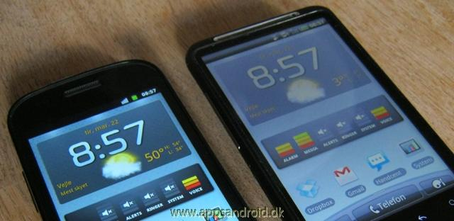 Google Nexus S vs HTC Desire HD test