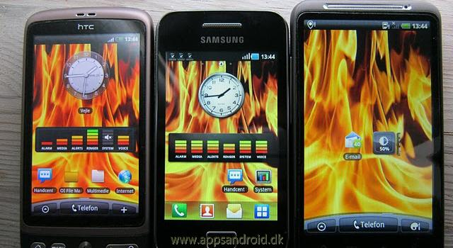 Samsung Galaxy Ace test skrm 1