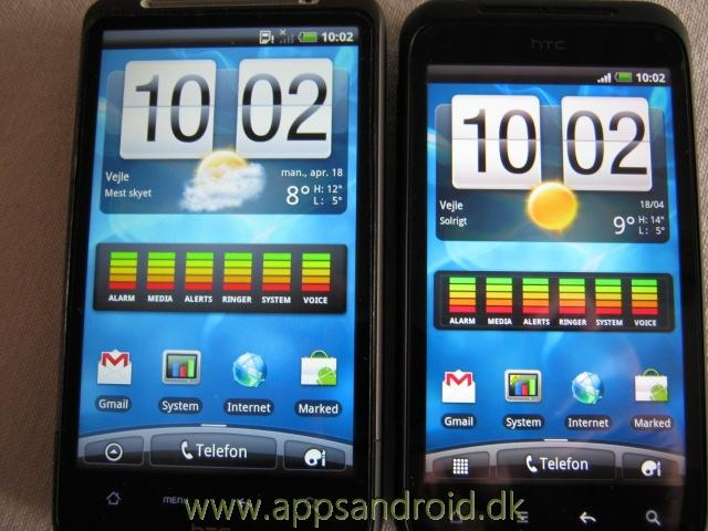 htc desire hd vs htc incredible s 1
