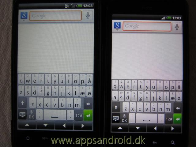 htc desire hd vs htc incredible s 5