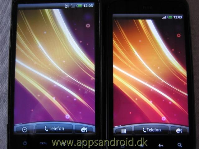 htc desire hd vs htc incredible s 6