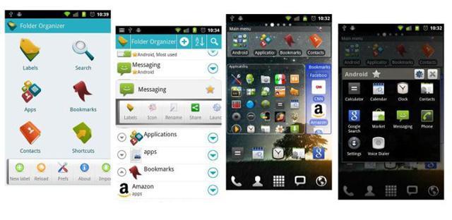 Folder organiser til Android