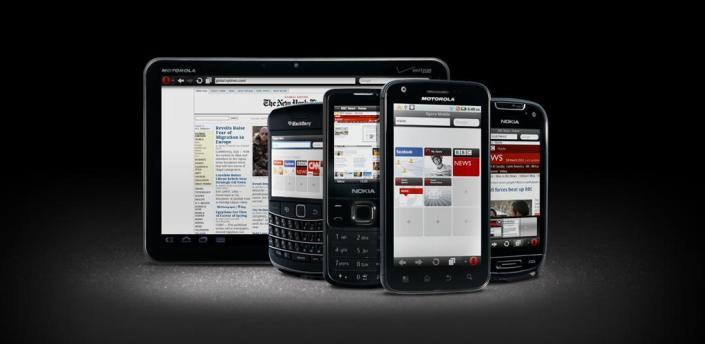 Opera mini browser til Android