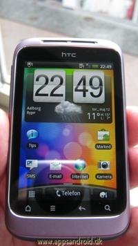 htc wildfire test 1