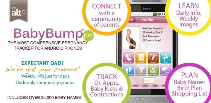 Baby bump app til Android