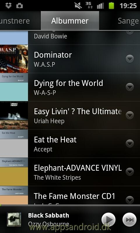 Google music Android 2