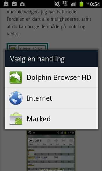 Android market web og mobil