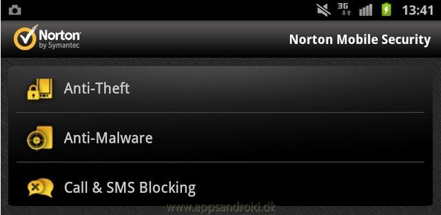Norton Mobile security 25 3