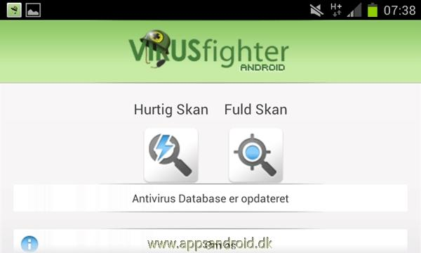 Virusfighter-Android-apps