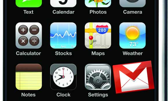 IOS-contact-Gmail-sync