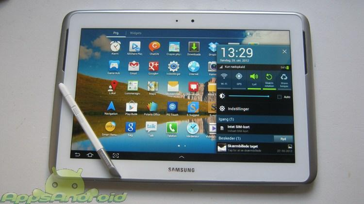 Samsung Galaxy Note 101 test 2