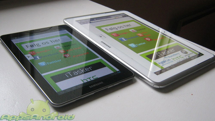 Samsung-Galaxy-Note-101-vs Samsung Galaxy Tab 77
