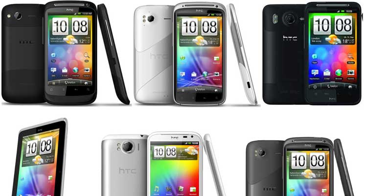 HTC-Android-mobiler