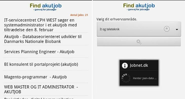 Find-akut-job-Android-app