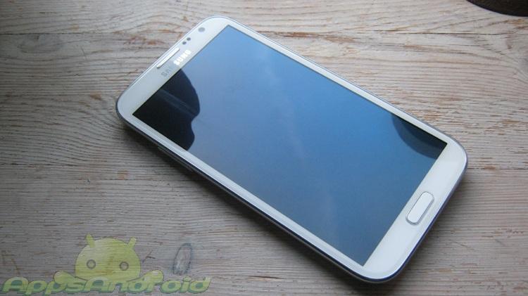 Samsung Galaxy Note 2 blank