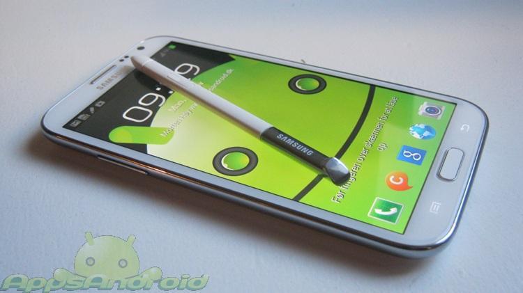 Samsung Galaxy Note 2 test