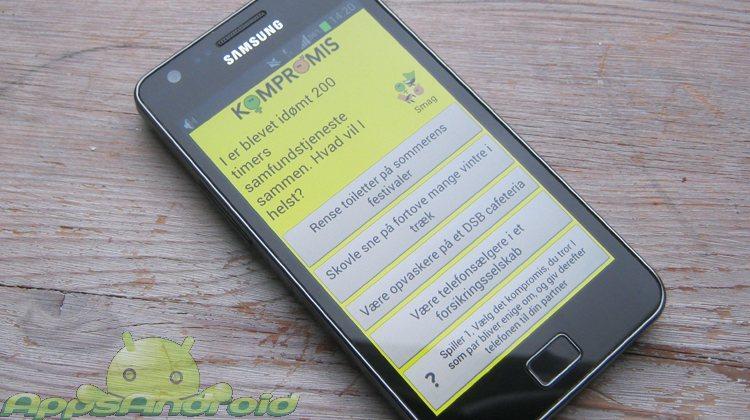Kompromis dansk spil til Android smartphones
