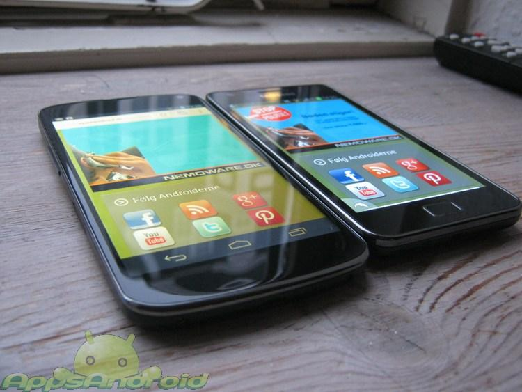 LG Nexus vs SGS2 1