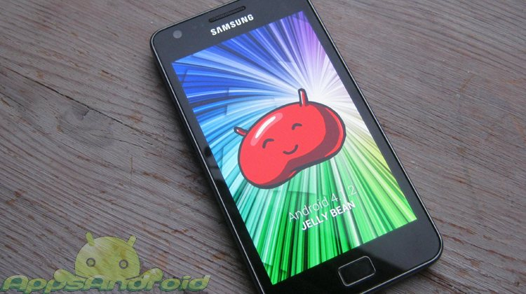 Android 4 1 2 Jelly Bean Samsung Galaxy S 2