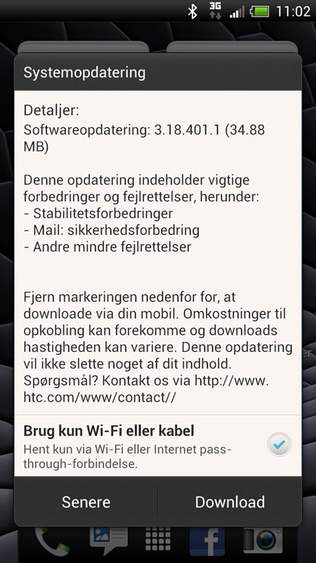 HTC-One-X-opdatering