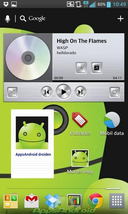 LG Optimus G UI 1