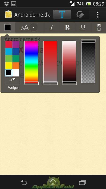 Sony Xperia Z UI 4