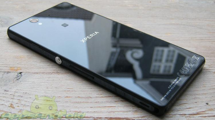 Sony Xperia Z test