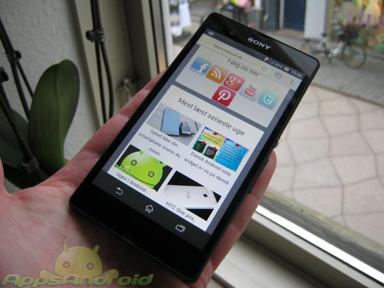 Sony Xperia Z test 5