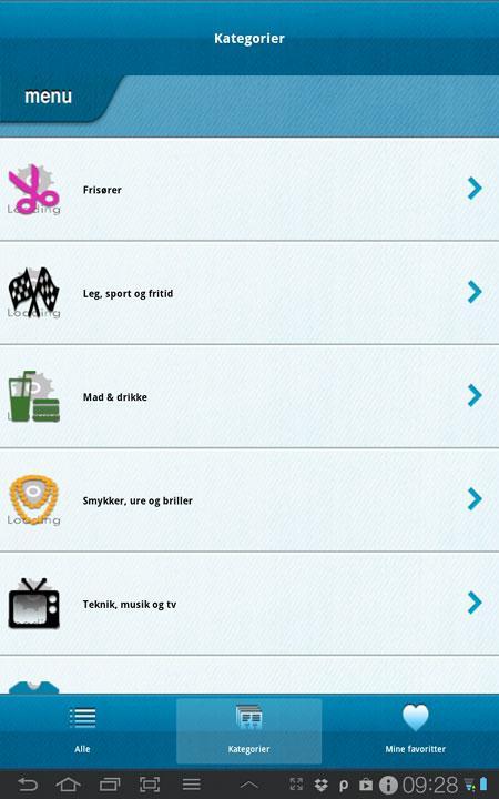 Blaa-mandag-app