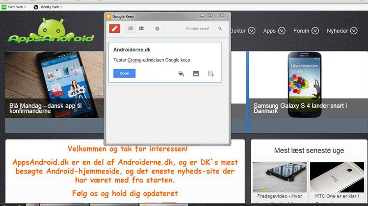 Google-Keep-Chrome-extensio
