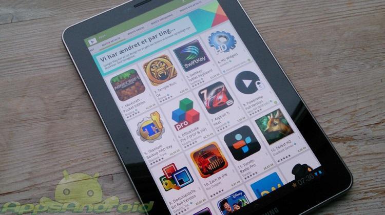 New Google Play apk