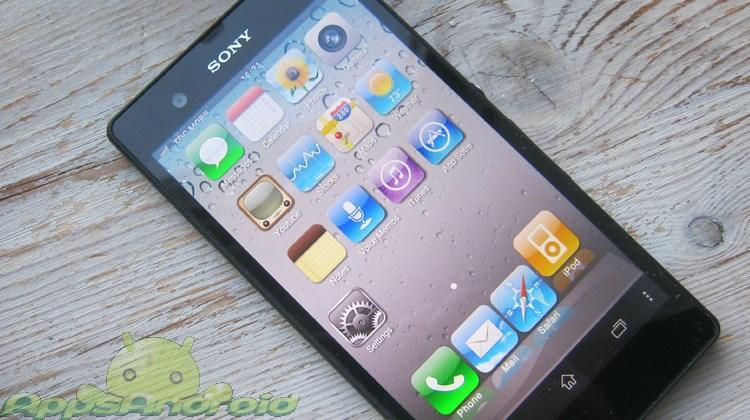 Sony Xperia iOS