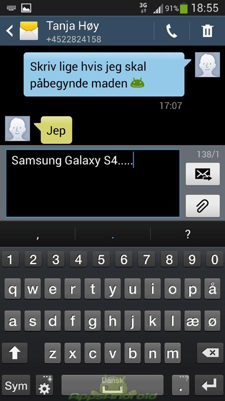 SGS4 SMS