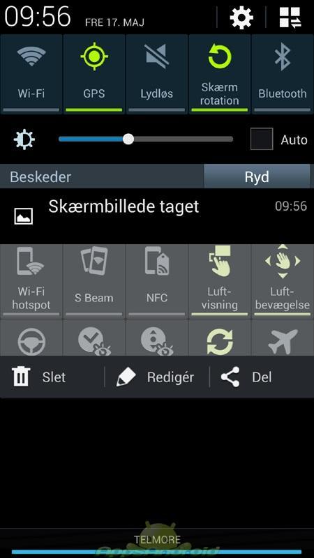 SGS4 statusbar screenshot
