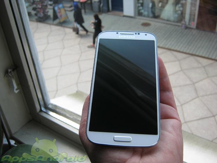 Samsung Galaxy S 4 test 1