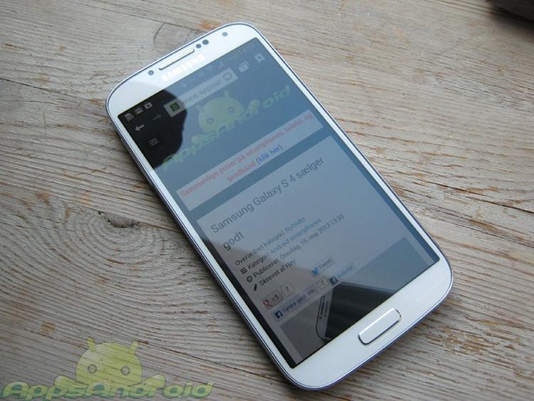 Samsung Galaxy S 4 test 2
