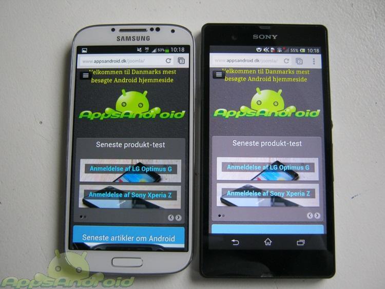 Samsung Galaxy S 4 vs Sony Xperia Z 5