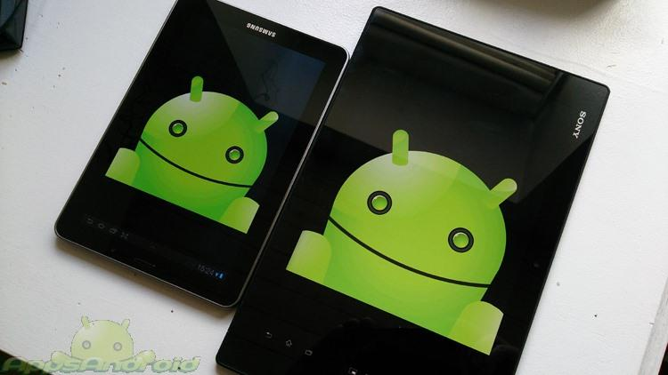 Galaxy S 7 vs Xperia tablet Z 1