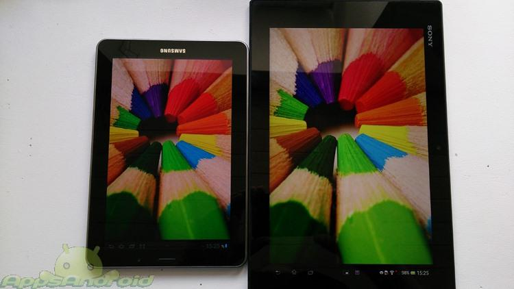 Galaxy S 7 vs Xperia tablet Z 2