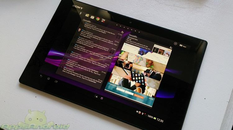 Sony Xperia Tablet Z test
