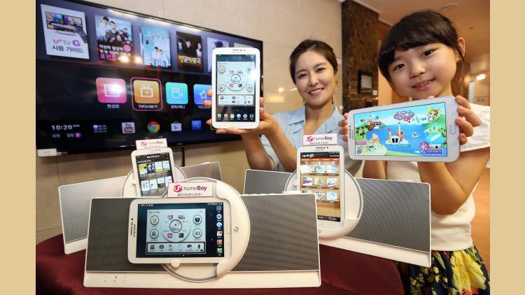 LG lancerer en Samsung tablet