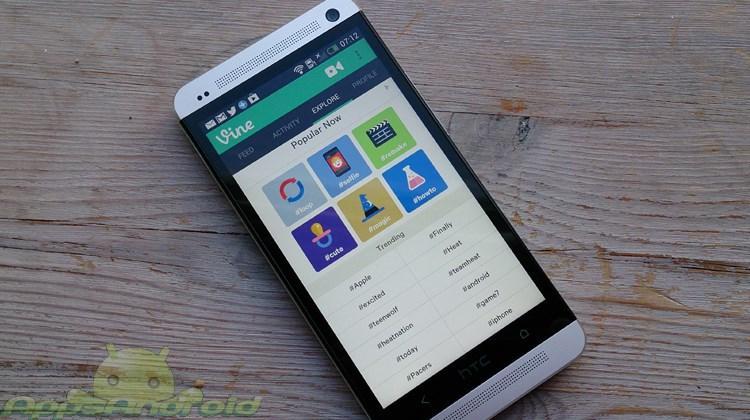 Vine app til Android