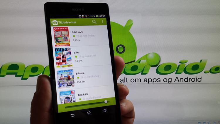 eTilbudsavis til Android