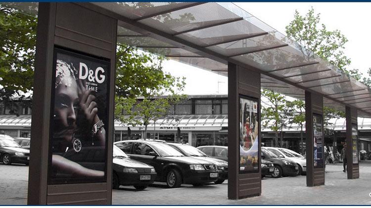 NFC reklamer i byen