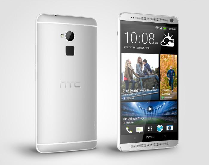 HTC One Max smartphone