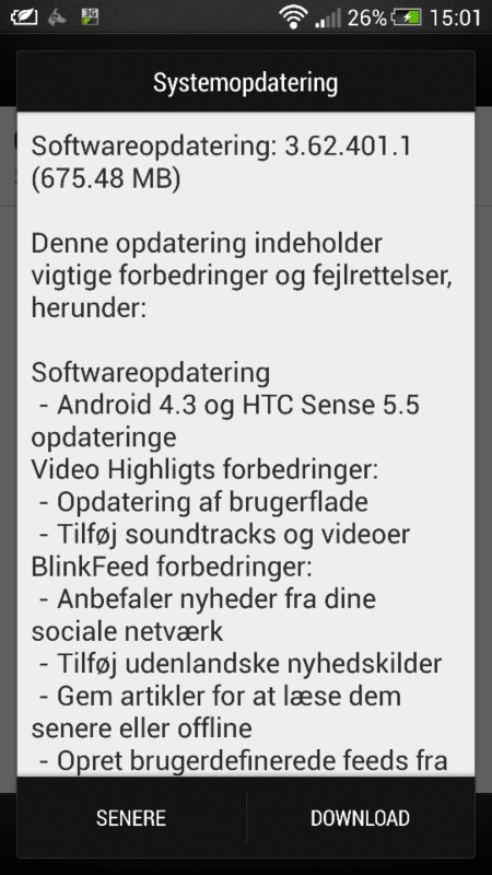 HTC one Android43