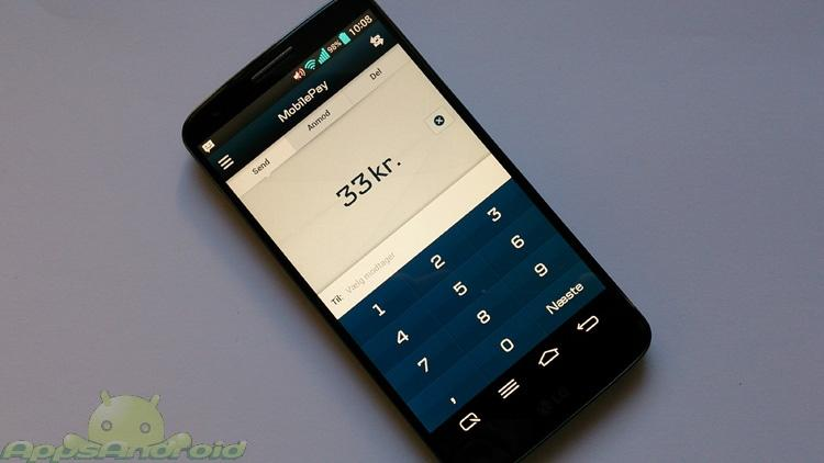 Danske Bank MobilePay app